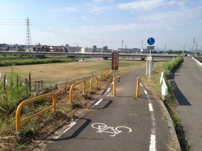 南大阪サイクルライン(川西大橋)