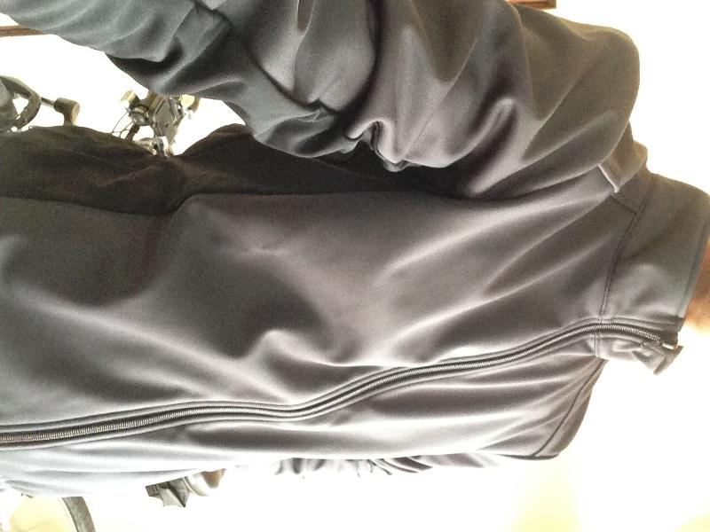 サイトウインポート・冬用ウィンドブレークサイクルジャケット