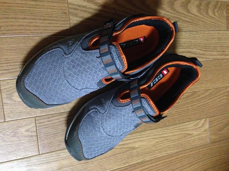 ニューバランスの靴MW733