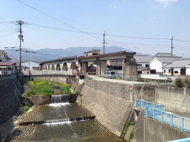 幻の五新鉄道の橋脚
