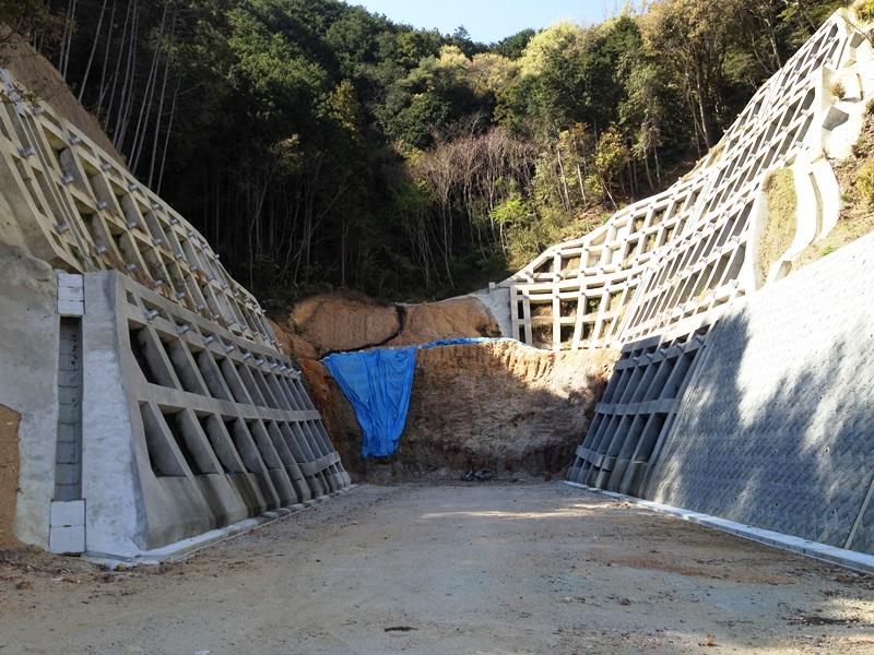 トンネル建設予定地?