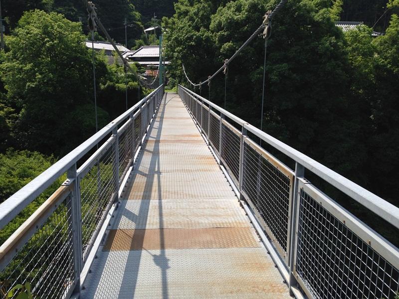 滝畑ダムバス停横の橋