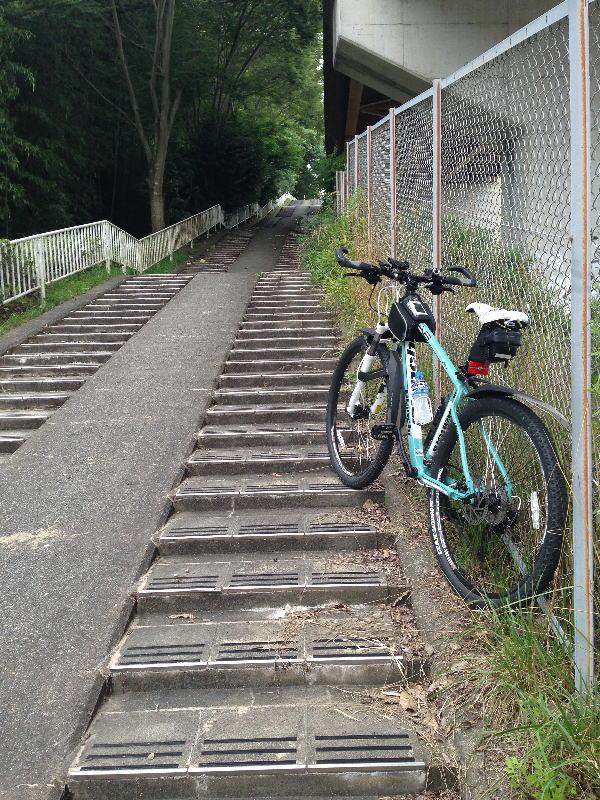 R371号バイパス横の階段