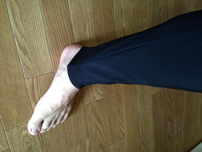 TLサイズを履くとこんな感じ