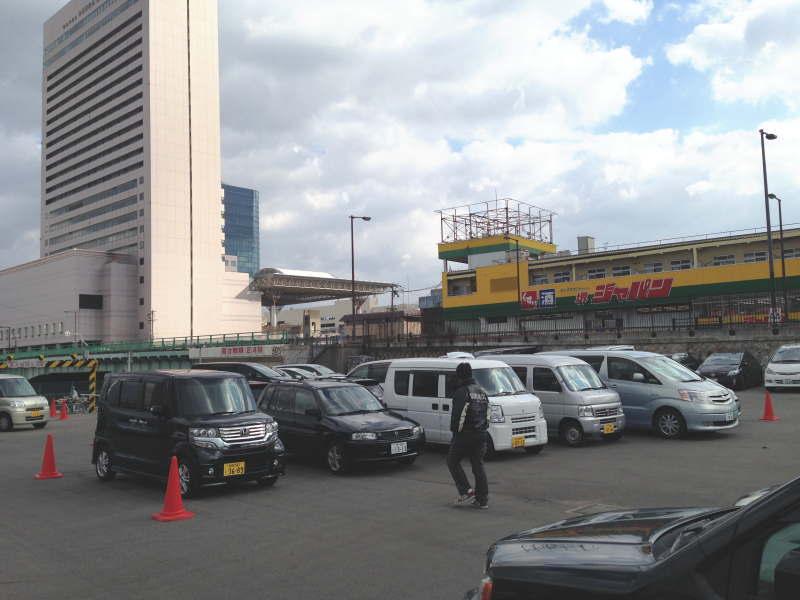 堺旧港観光市場・臨時駐車場