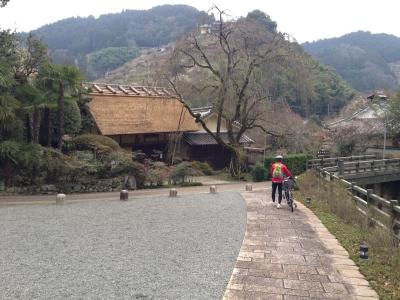 賀名生皇居跡