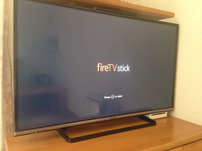 Fire TV Stickが起動