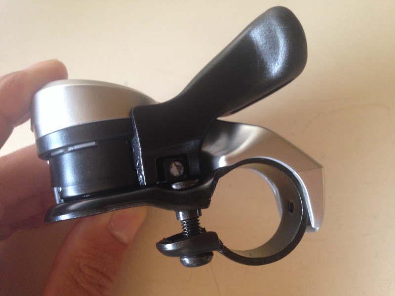SHIMANO(シマノ) サムシフター フロント3S/フリクション SL-TX50-LN ASLTX50LFBTクランプ金具