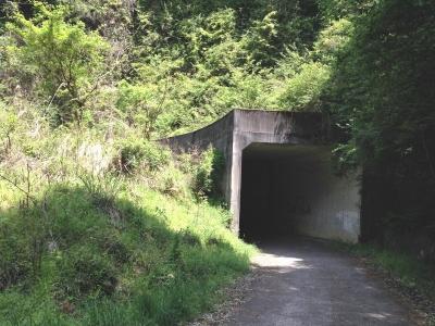 流谷のループトンネル