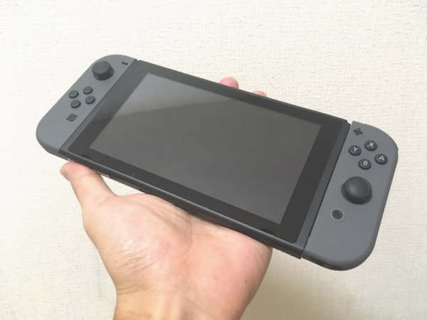 Switchのゲームパッド+Joy-Con