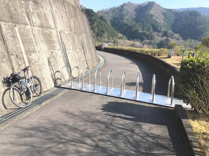 滝畑ダム北側のゲートはそのまま