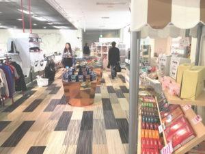 トヨタ会館2階の売店