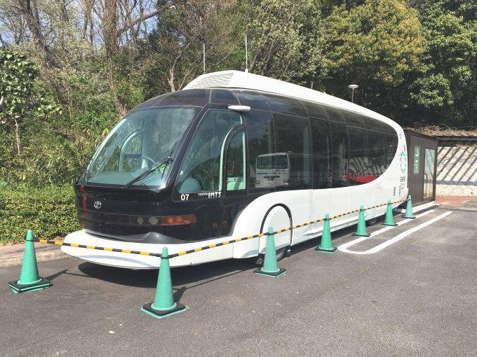 愛・地球博のバス@トヨタ博物館