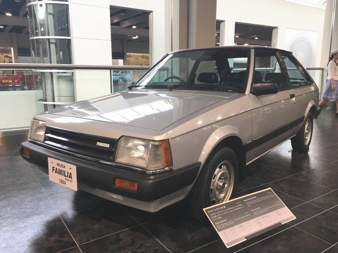 マツダ・ファミリアBD型
