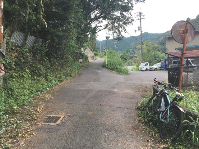 滝畑ダム下~渓流沿いのルートは通行可に