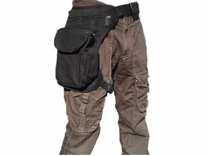 ROZZERMAN 腿にベストフィット! ウェストポーチ 腿用 バッグ