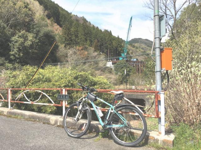 371号バイパス工事@天見駅南側