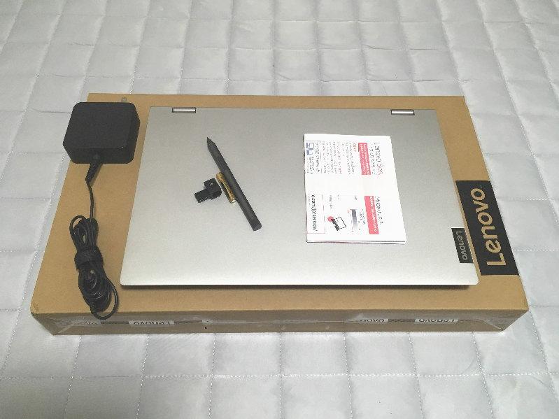 レノボ「Ideapad C340(15)」開封の儀