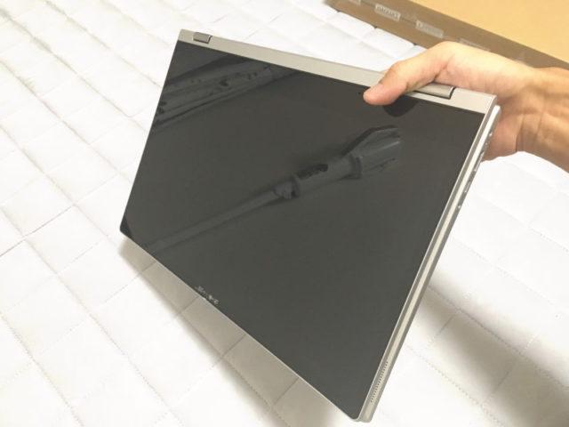 レノボ「Ideapad C340(15)」タブレットモード
