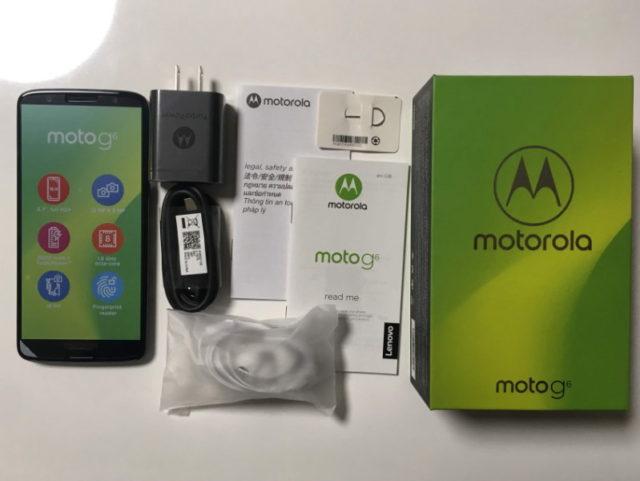 モトローラ・Moto G6
