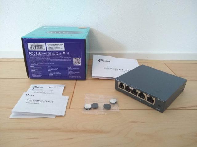 TP-Link 5ポート スイッチングハブ TL-SG105V5.0